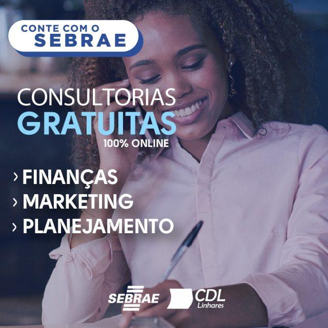 CDL LINHARES E SEBRAE FORMAM PARCERIA PARA OFERECER CONSULTORIA GRATUITA A ASSOCIADOS